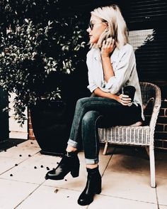 Summer Fashion Trends || Black Booties