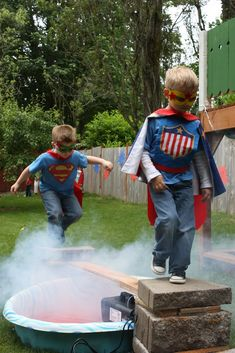 24 Incredible Superhero Party Ideas that Will Make You Wish You Were a Kid Again! | How Does She