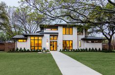 Williamstown - contemporary - Exterior - Dallas - John Lively & Associates