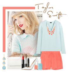 """Happy Birthday Taylor Swift!"" by chebear ❤ liked on Polyvore featuring Monica Vinader, Stila, BCBGMAXAZRIA, Joseph, Natasha, Milly, Essie, NARS Cosmetics, Gianvito Rossi and taylorswift"