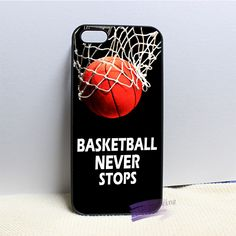 basketball never stops fashion cell phone case cover for iphone 4 5 SE 6 plus 7 plus Iphone 6 S Plus, Iphone 5se, Iphone Phone Cases, Cell Phone Covers, Cute Phone Cases, Iphone Case Covers, Iphone Seven Cases, Free Government Cell Phones, Top Mobile Phones