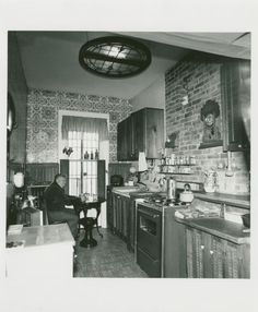 Apartment of Milton Briggs. Boerum Hill, Brooklyn, February Somehow this kitchen is way cool.