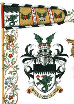 The Heraldry Society Shield Design, Chivalry, Family Crest, Art Plastique, Coat Of Arms, Rooster, Medieval, Creations, Flag