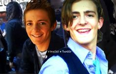 Rocky Lynch then and now age 14 to age 19 in these photos... When he was young he was cute! He looked a lot like Ross when he was little to me he does! But today in 2014 Ross Lynch is the most cutest one in R5 well in the world!!!!!