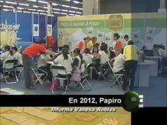 """El festival """"Papirolas"""" 2012 que se realizó del 16 al 20 de mayo, en la Expo Guadalajara, reunió a 89 mil niños y niñas, adolecentes y adultos, según un balance que presentaron, el responsable de Vinculación y Difusión Cultural de la Universidad de Guadalajara, Igor Lozada y la directora de Papirolas, Marcela García."""