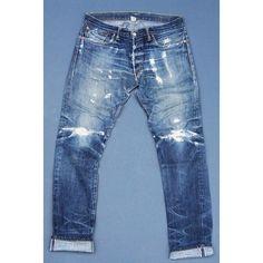 His Jeans, Torn Jeans, Denim Jeans Men, Jeans Pants, Denim Boots, Blue Jeans, Mens Fashion Shoes, Denim Fashion, Rainbow Fashion