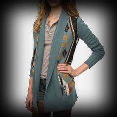 アーバンアウトフィッターズ レディース ニット Urban Outfitters Ecote Intarsia Cardigan カーディガン-アバクロ 通販 ショップ #ITShop