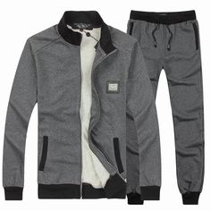 67 Grey Sportswear Baratas shop im shop outlet marque Mens Sweat Suits, Sport Outfits, Casual Outfits, Future Clothes, Training Tops, Gentleman Style, Stylish Men, Adidas Men, Gym Men