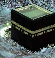 """""""And [mention, O Muhammad], when We designated for Abraham the site of the House, [saying], """"Do not associate anything with Me and purify My House for those who perform Tawaf and those who stand [in prayer] and those who bow and prostrate."""" [22:26]"""