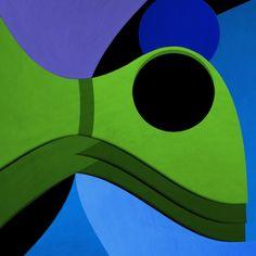 """Azurebumble : """"Blue & Green"""" Series (Artworks)"""