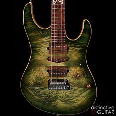 Suhr Modern Custom DG Select Series. Available at distinctiveguitar.com.