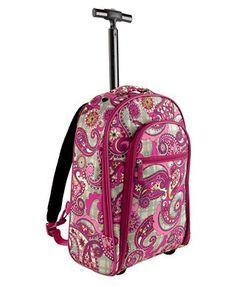 a131a3c7813d Rolling Backpack Vera Bradley Backpack