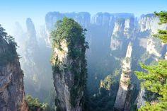 Monte Tianzi, Zhangjiajie National Park, Cina