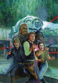 Star Wars #19 by Hugh Fleming *