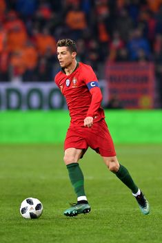 Cristiano Ronaldo Photos - Cristiano Ronaldo of Portugal during the  International Friendly match between Portugal v Netherlands at Stade de Geneve on March 26, 2018 in Geneva, Switzerland. - Portugal Vs. Netherlands - International Friendly