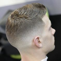 High fade with ultra short top