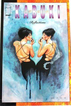 Kabuki Reflections by David Mack - 1998 Image Comics