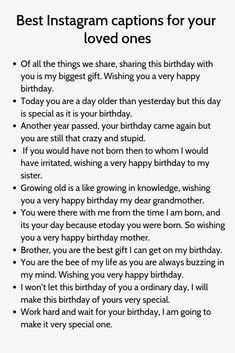 Birthday Captions Instagram, Attitude Caption For Instagram, Instagram Captions For Selfies, Selfie Captions, Picture Captions, Family Captions, Cool Instagram, Instagram Quotes, Bio Quotes