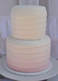Gorgeous bridal shower cake