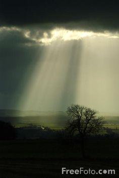 Even during rain, the sun will shine