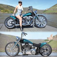 Thunderbike customized Harley-Davidson Softail for Custom Chrome Europe