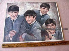 Original  Early Sixties Beatles Poster 16 x by SherwoodsTreasures
