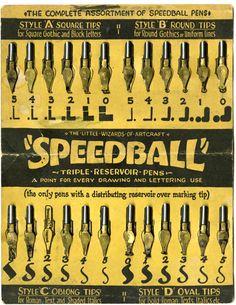 the little wizards of artcraft..speedball