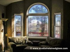 Low-Cost Leaded Glass Windows #2720