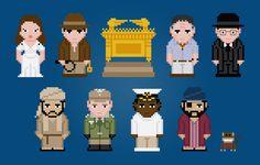 Indiana Jones and Raiders of the Lost Ark par AmazingCrossStitch