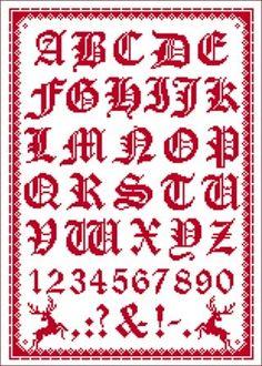 Seite ohne Namen Cross Stitch Alphabet, Cross Stitch Samplers, Cross Stitch Patterns, Folklore, Monogram Alphabet, Hama Beads, Projects To Try, Embroidery, Uni