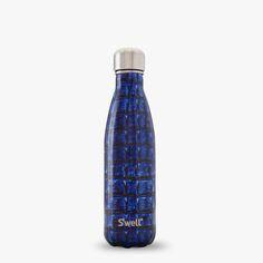 Navy Alligator animal printed flask Swell waterbottles