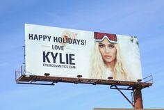 Kylie Cosmetics and more billboards. Kardashian Jenner, Kylie Jenner, Billboard Design, Kylie Cosmetic, Signage Design, Creative Inspiration, Cosmetics, Graphic Design, Beauty