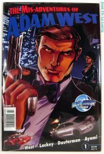 No Slice! Mis-Adventures of Adam West #1 C Variant Batman Bluewater Comics (2011) FREE Shipping