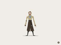 Jorah Mormont by Jerry Liu Studio