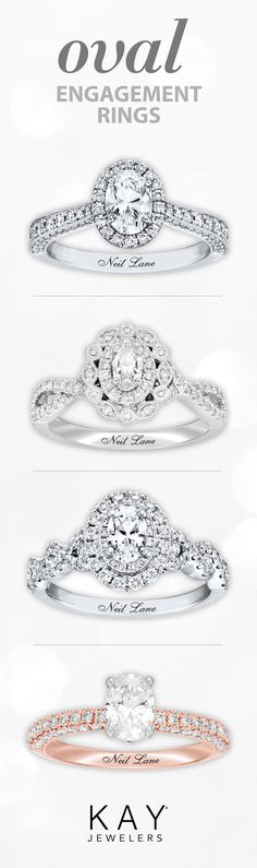 Now trending: Eye-catching oval diamond engagement rings! Oval Diamond, Diamond Rings, Diamond Engagement Rings, Perfect Engagement Ring, Wedding Engagement, Wedding Bands, Pretty Rings, Beautiful Rings, Dream Ring