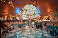 decoração de casamento azul tiffany - Pesquisa Google