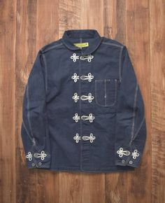Sasquatchfabrix 4350 12/4 China Work Denim Jacket 1.6 1.2 1.0 0.7 Size m - Light Jackets for Sale - Grailed