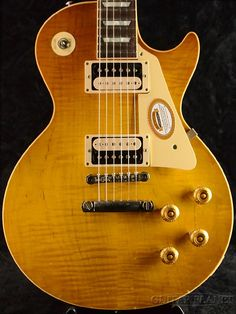 Gibson Custom Shop ~True Historic~ 1958 Les Paul Reissue HRM Murphy Aged -Golden Poppy Burst-【SN/8 6319】