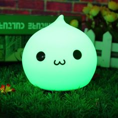 7 Color Changeable USB LED Silicone Soft Waterdrop Night Light Lamp for Baby Children Cute Night Lights, Led Night Light, Light Crafts, Red Blue Green, Cute Plush, Nightlights, Night Lamps, Diy Car, Light Decorations