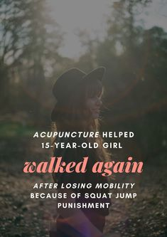 Wow, truly #AcupunctureWorks