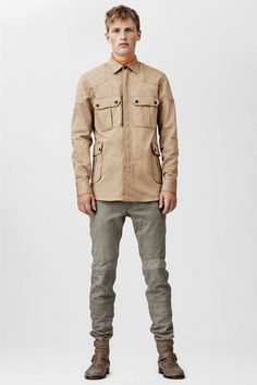 Belstaff Spring 2014 Menswear Collection Slideshow on Style.com
