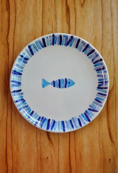 Plato cerámica