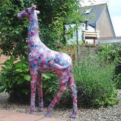 Uk Shop, Giraffe, Dinosaur Stuffed Animal, Gifts, Animals, Ebay, Things To Sell, Felt Giraffe, Presents