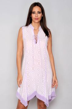 Rochie asimetrica, 100% bumbac, HHG Tunic Tops, Dresses, Model, Products, Fashion, Embroidery, Vestidos, Moda