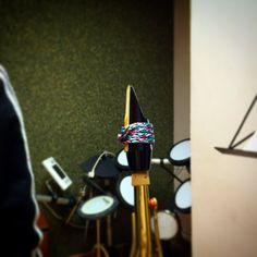 Amazing picture! Go! #sax #saxophone #ligature.