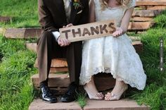 'thanks'   CHECK OUT MORE IDEAS AT WEDDINGPINS.NET   #weddings #weddinginspiration #inspirational
