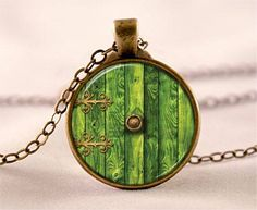 Hobbit Hole Door Necklace