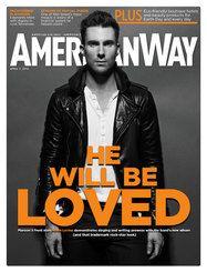 American Way Magazine... reading on the plane!
