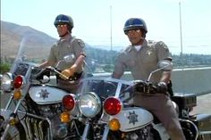 Yes officer, I've been a bad bad girl. Cuff me Ponch! Police Uniforms, Police Officer, Stephanie Zimbalist, Larry Wilcox, Stephen Collins, Ray Donovan, California Highway Patrol, Cop Show, Oldies But Goodies