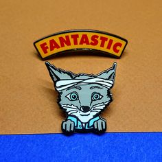 Kristofferson, Pin Double, Fantastic Mr Fox, Pin Collection, Hat Pin, Lapel Pin, Best Friends, Cousins, Fox Gifts, Enamel Pin Badge